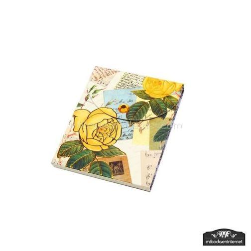 Bloc Notas Floral Retro