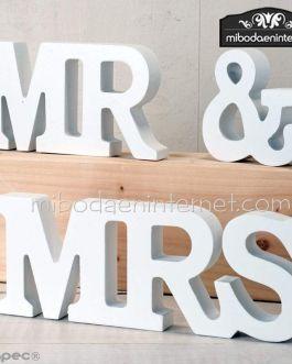 Decoración madera set 3 MR & MRSW983-MP