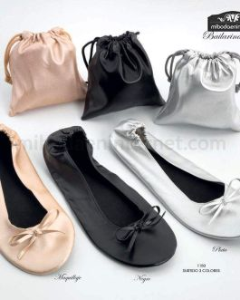 Bailarinas Enrrollables 3 colores