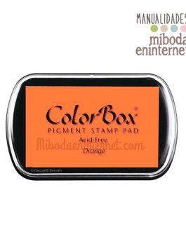 Tampon de Tinta Colorbox Naranja sin ácido