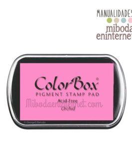Tampon de Tinta Colorbox Rosa orquidea sin ácido