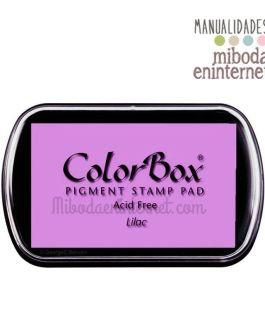 Tampon de Tinta Colorbox Lila sin ácido