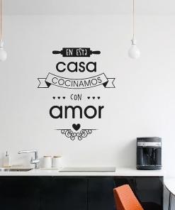 Frases - Cocina - Cocinamos amor 1