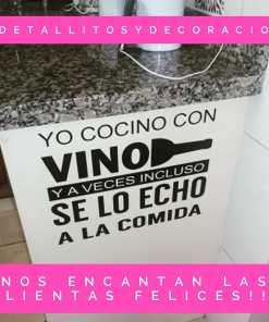 Frases - Cocina - Vino 1