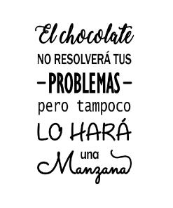 Chocolate Manzana