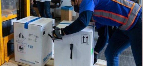 Η Νότια Κύπρος λαμβάνει εμβόλια Covid-19