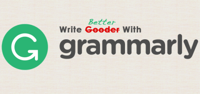 Use this awesome Chrome extension to correct your grammar & spelling errors