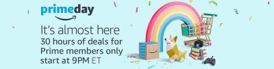 If you want to take part in Amazon's primeday 2017, you must sign up for Amazon Prime (it's free to try)