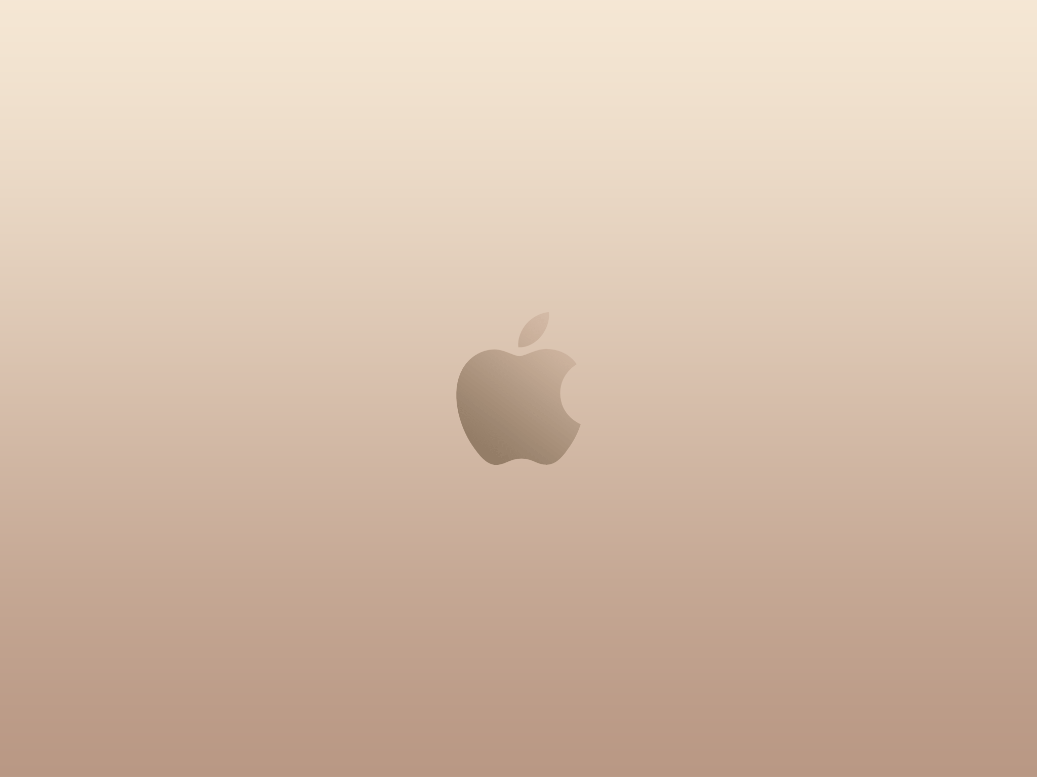 2019 year for girls- Apple gold wallpaper hd