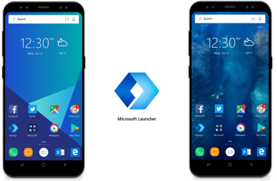 Microsoft may not dominate mobile, but its Launcher for Android is pretty slick