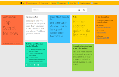 Organize your life with Google Keep (app review)