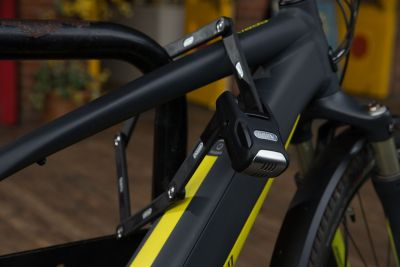 The ABUS Bordo Alarm will protect your bike with an alarm that is louder than a jackhammer