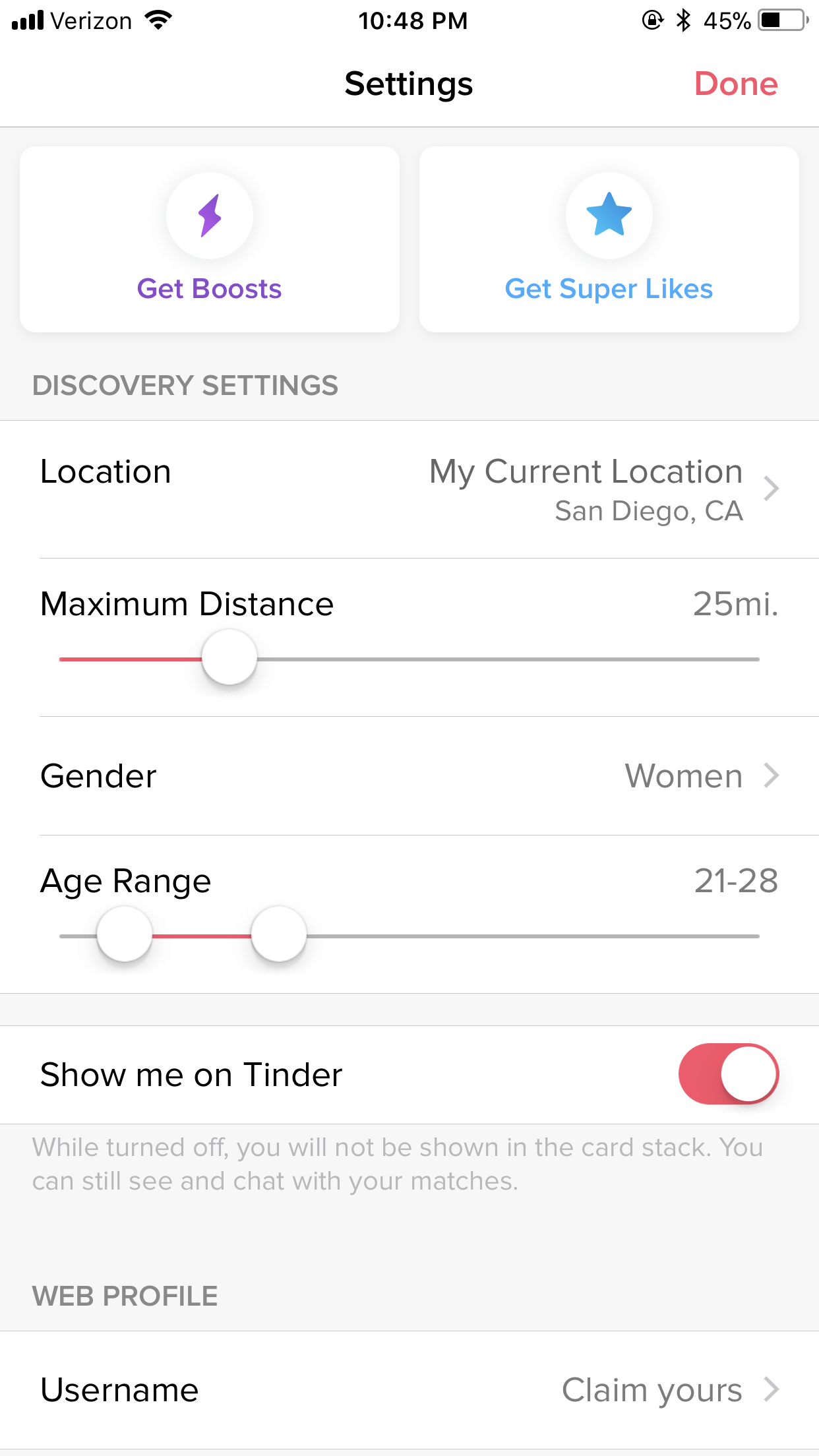 What to talk about on tinder