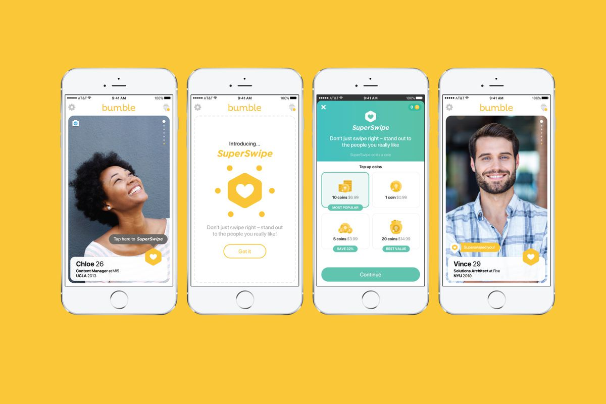 Bumble dating app fucked