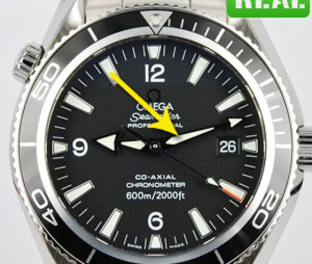 Omega Seamaster Watches Step
