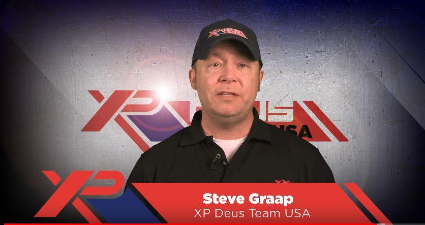 Steve Graap talks about filming your metal detecting adventures