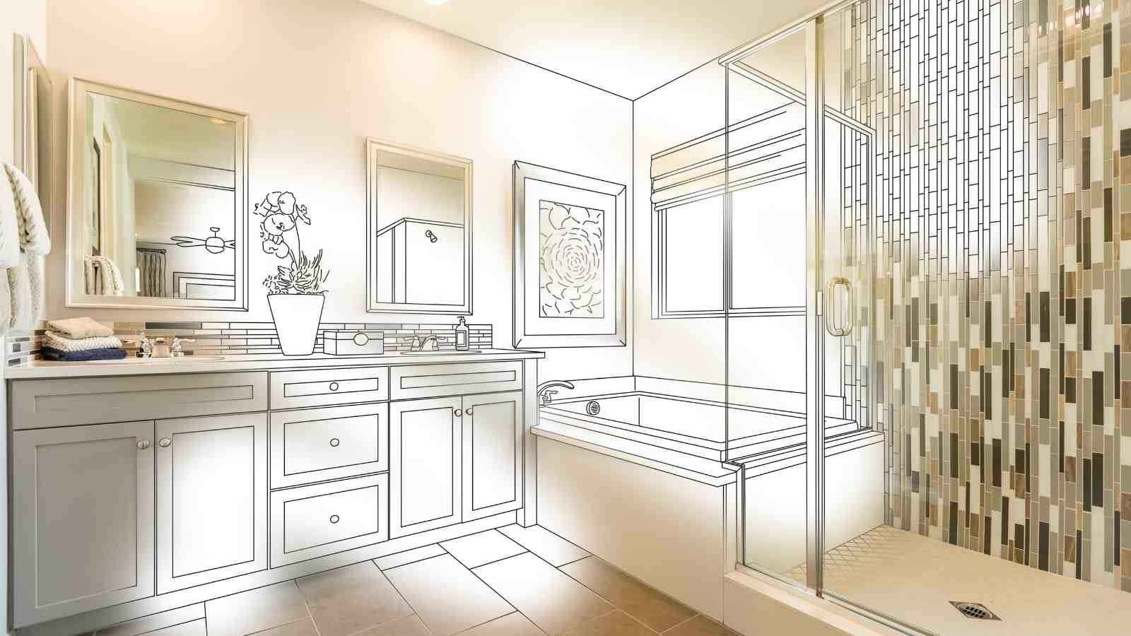 35 Amazing Bathroom Remodel DIY Ideas that Give a Stunning ... on Remodeling Ideas  id=62086