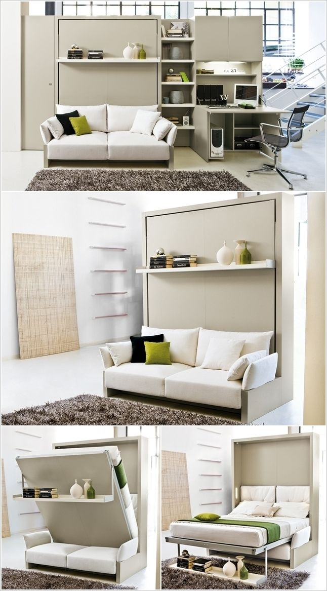 crazy murphy bed decorating ideas