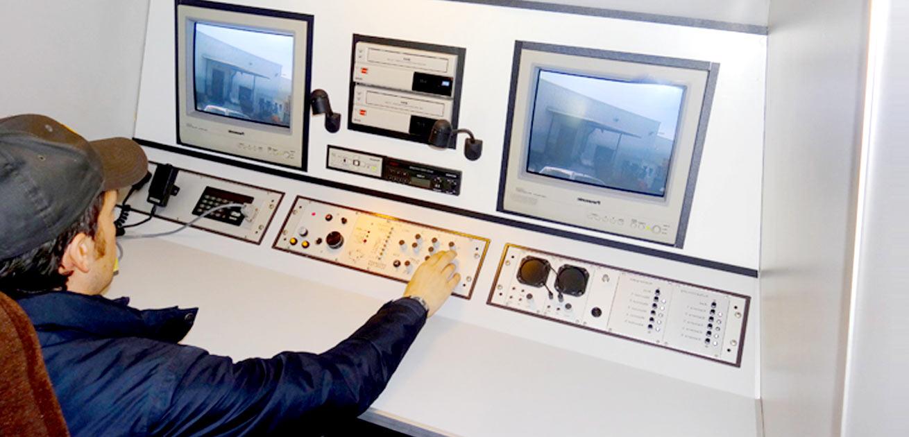 Detektei - Grafik Videoüberwachungsfahrzeug
