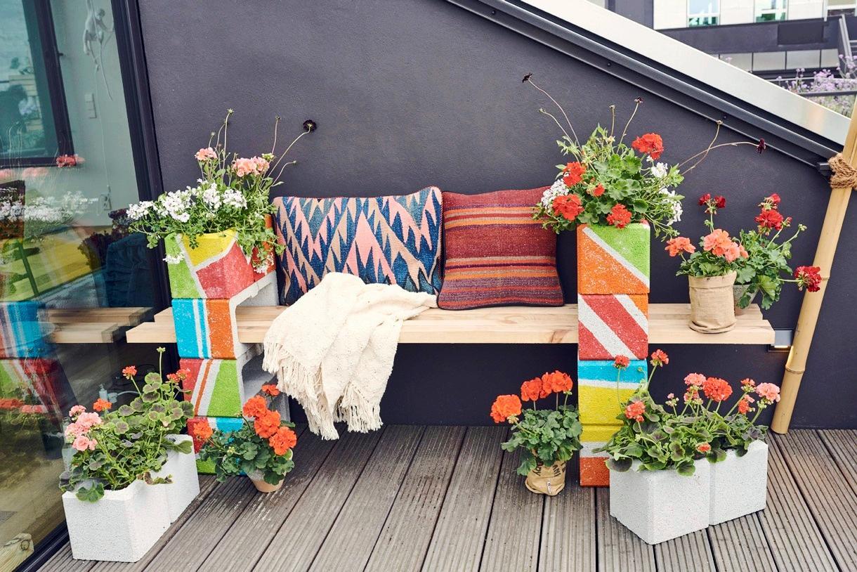 Diy Une Jardiniere De Geraniums En 4 Etapes Simples Detente Jardin