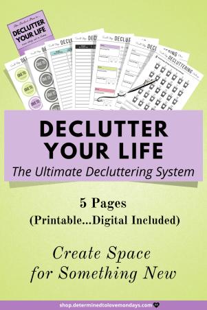 Declutter Organization Planner