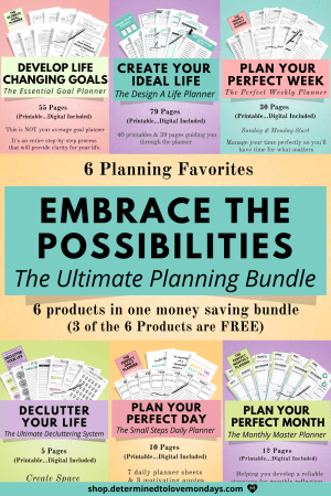 Life Planning Printable and Digital Planners