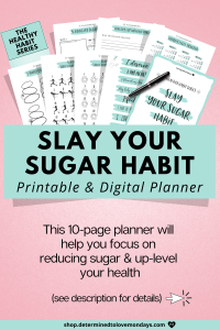 Slay your sugar habit with this habit tracker kit