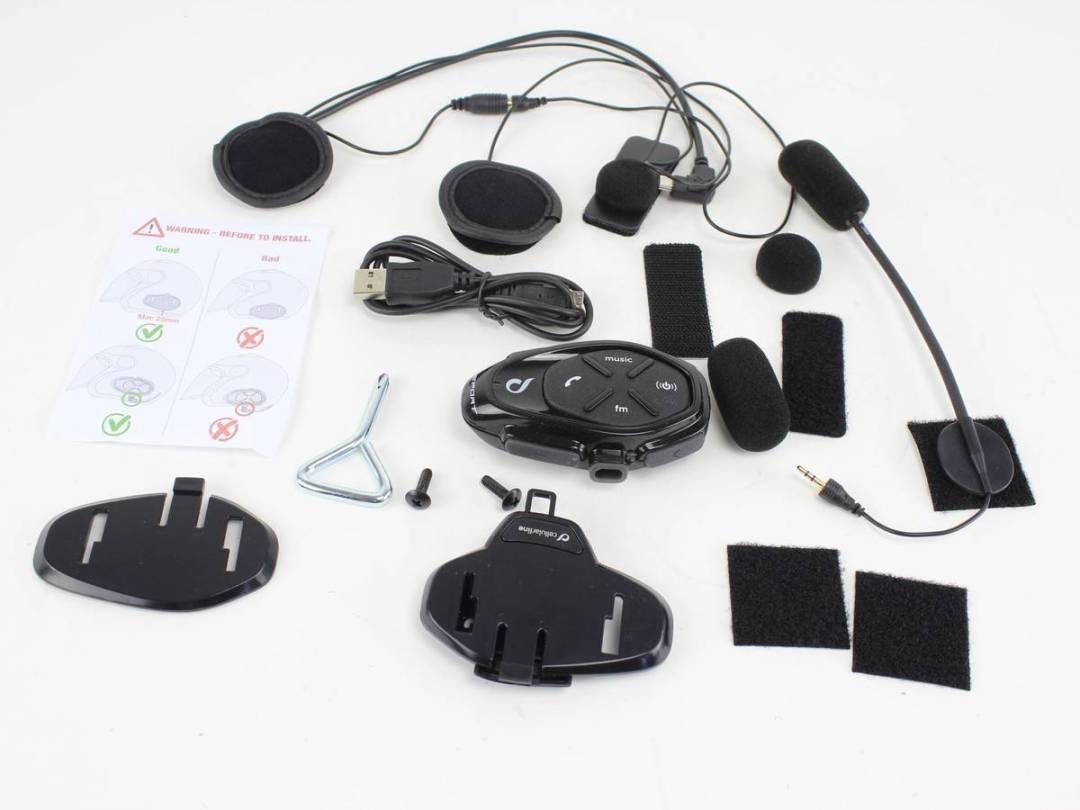 Intercomunicador para moto Cellularline Interphone Sport 1