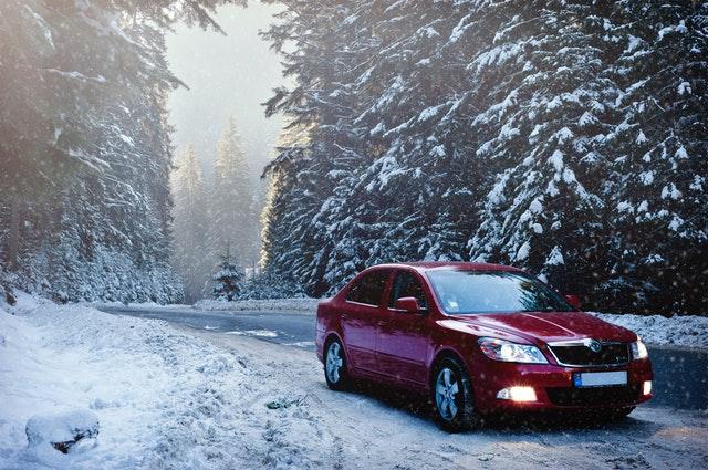 coche invierno
