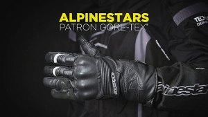 Alpinestars Patron Gore-Tex Gore Grip. Guantes de moto para invierno.