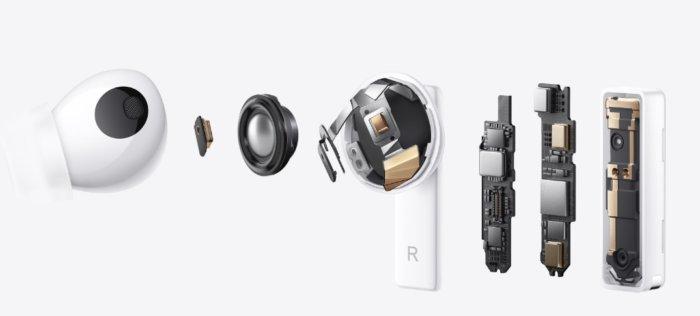 Con un diseño de antena dual, HUAWEI FreeBuds Pro ofrece una amplia cobertura de señal. Incluso si su teléfono está en su bolsa, bolsillo o área de interrupción, HUAWEI FreeBuds Pro todavía ofrece una conexión estable.