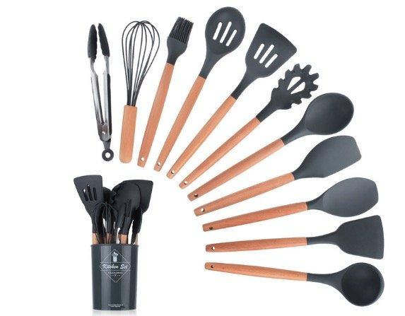 Los mejores utensilios de silicona tipo LéKUé para cocina creativa 5