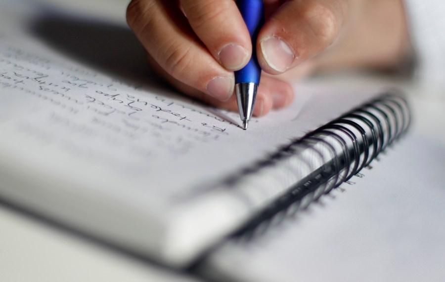 Escribir todos los dias a mano