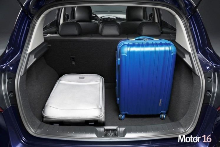 Quepa todo el equipaje en el maletero