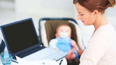 Tips para combinar trabajo e hijos sin morir en el intento