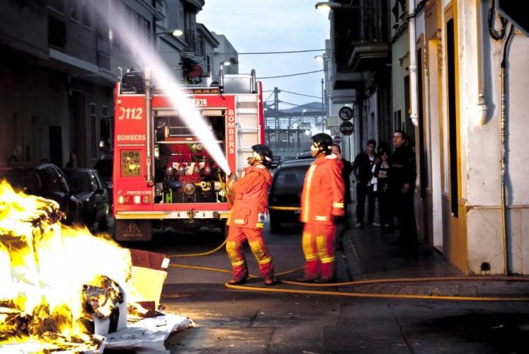 Llamar a los bomberos