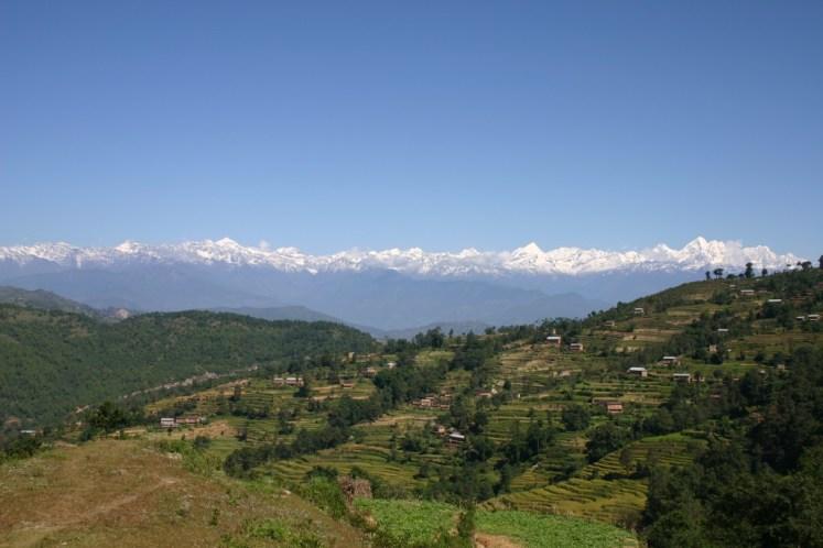 KATMANDÚ, NEPAL, paisaje