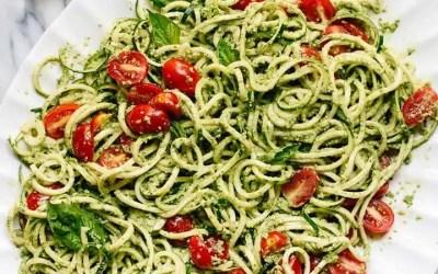 Vegan Zucchini Noodle Recipe with a Twist