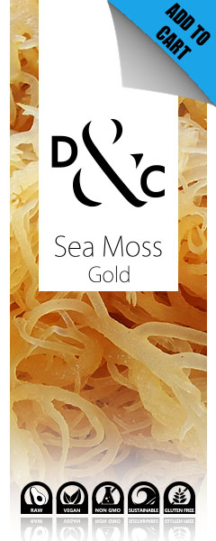 buy sea moss gold online through Detox & Cure in Australia