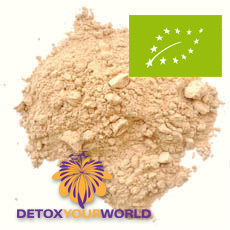 Maca, certified organic, powdered, raw