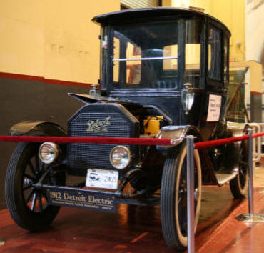 1912 Detroit Electric at BC Hydro's Stave Falls visitor center