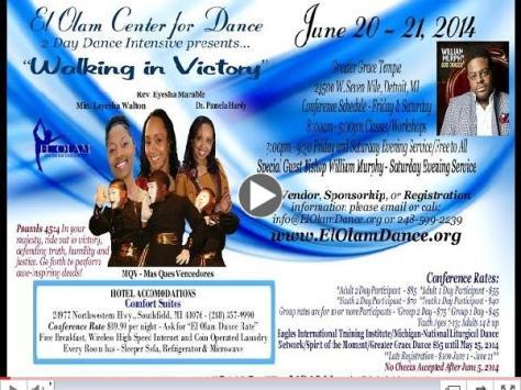 El Olam 2 Day Dance Intensive w/Bishop William Murphy