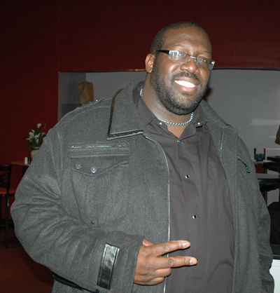 """The Superman of Gospel"" Eric Deon Taylor (currently working on movie)"
