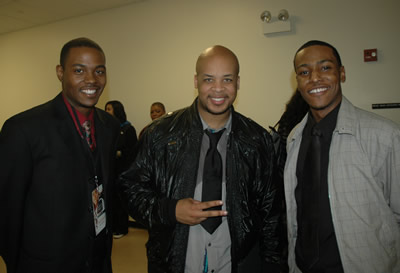 Rick Lee, James Fortune, and Hatten Young