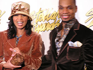Tammy and Kirk Franklin