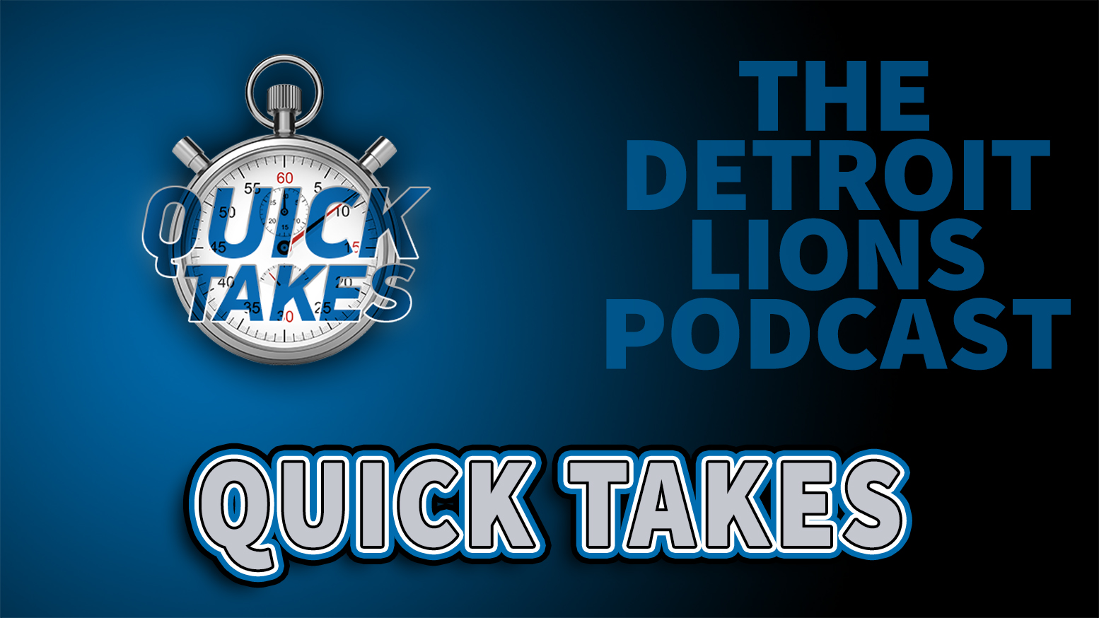 Detroit Lions Podcast Quick Takes