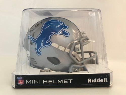 Detroit Lions Kenny Golladay signed mini helmet