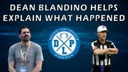 Detroit Lions Podcast and Dean Blandino