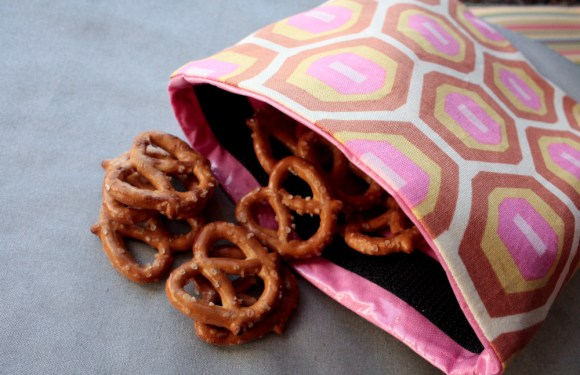 Earth Friendly Fun Find: Homemade Reusable Snack Bags