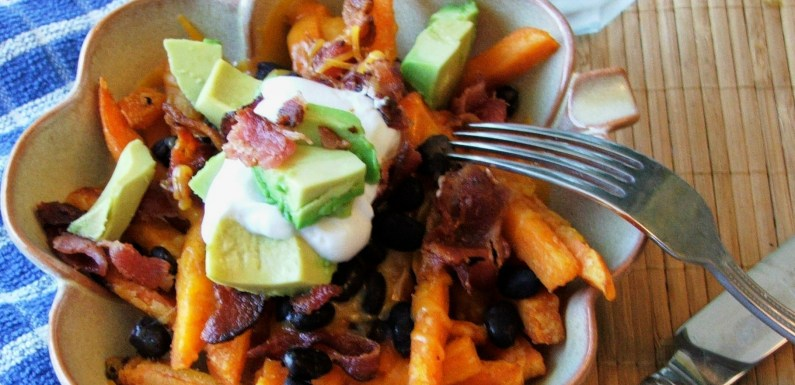 Loaded Sweet Potato Fries Recipe – Fork Required!